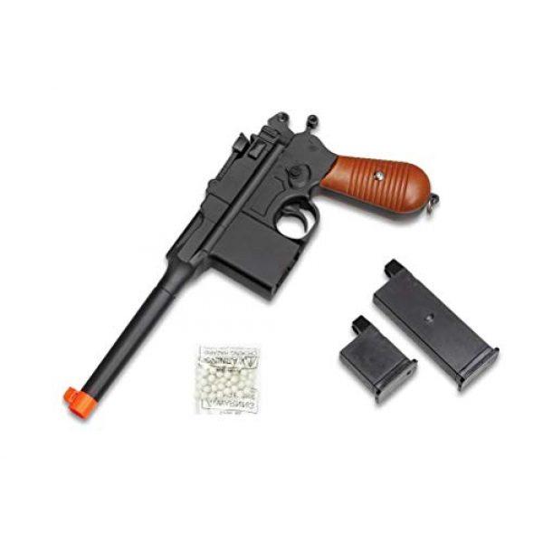 GALAXY Airsoft Pistol 3 WW2 Mauser Broomhandle c96 German Airsoft Spring Hand Gun Pistol