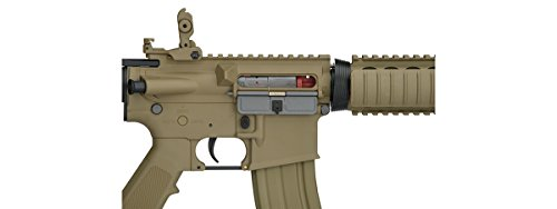 Lancer Tactical  3 UKARMS Lancer Tactical MK18 MOD 0 AEG FIELD Metal Gears Airsoft Gun Rifle w 9.6v Battery & Charger (Tan High Velocity)