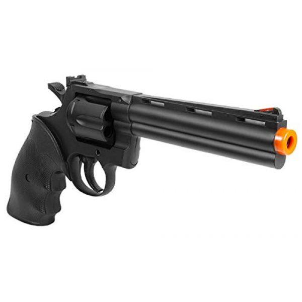 TSD Sports Airsoft Pistol 4 TSD Sports UA938B 6 inch Spring Powered Airsoft Revolver (Black)