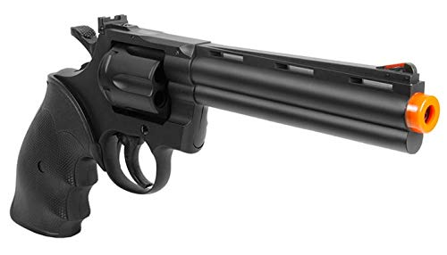 TSD Sports Airsoft Pistol 4 TSD Sports UA938B 6 inch Spring Powered Airsoft Revolver (Black)