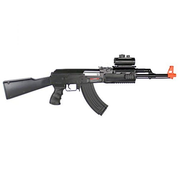 BBTac Airsoft Rifle 3 BBTac Airsoft Electric Gun AK BT-022 Fully Automatic Rifle, Great for Starter, with Semi & Safe Mode