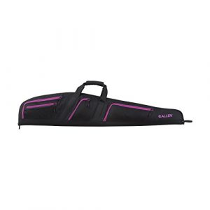 Allen Company Rifle Case 1 Allen Dolores Gun Case, Black with Orchid Pink Accents