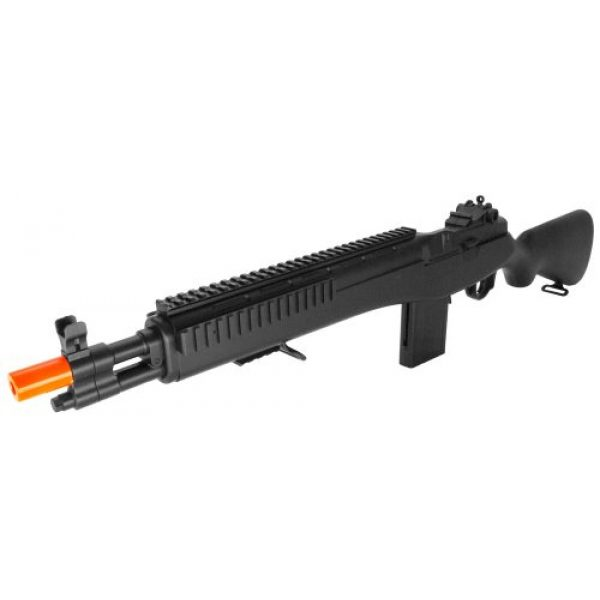 Double Eagle Airsoft Rifle 2 Powerful! Metal and abs Plastic Spring Powered m14 Assault Sniper Rifle fps-300 Airsoft Gun (Airsoft Gun)