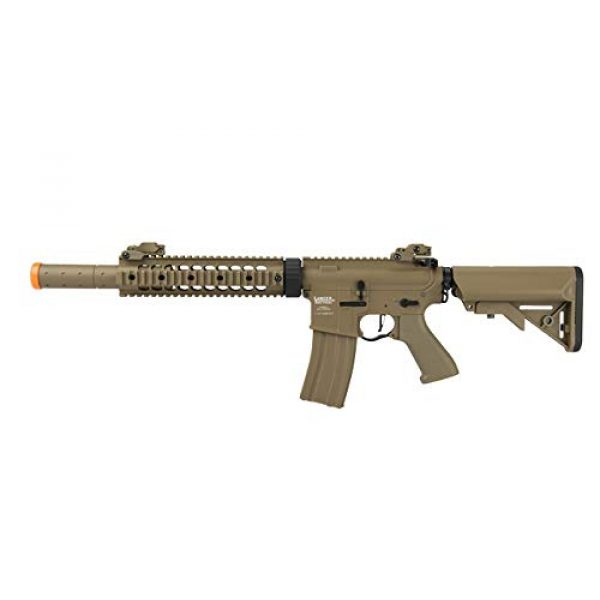 """Lancer Tactical Airsoft Rifle 1 Lancer Tactical M4 SD ProLine Series 9"""" Rail Airsoft AEG Rifle[HIGH FPS]"""