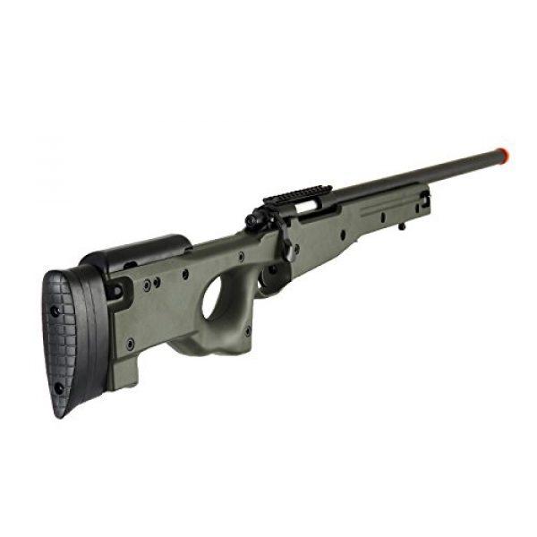 AGM Airsoft Rifle 4 AGM L96 Bolt Action Spring Sniper Airsoft Rifle Gun FPS 465 (Green)