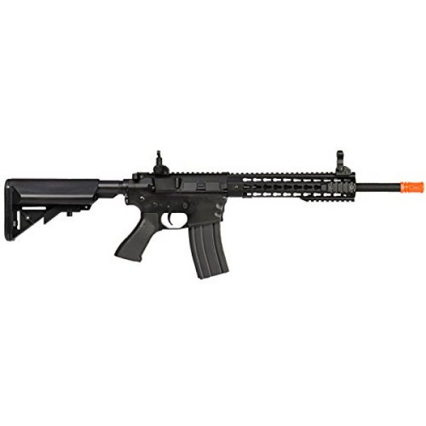 UKARMS Airsoft Rifle 4 UKARMS Lancer Tactical AEG M4 Keymod Electric Automatic Airsoft Rifle Gun - Full Metal Gearbox -