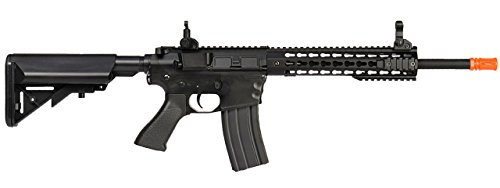 UKARMS  4 UKARMS Lancer Tactical AEG M4 Keymod Electric Automatic Airsoft Rifle Gun - Full Metal Gearbox -