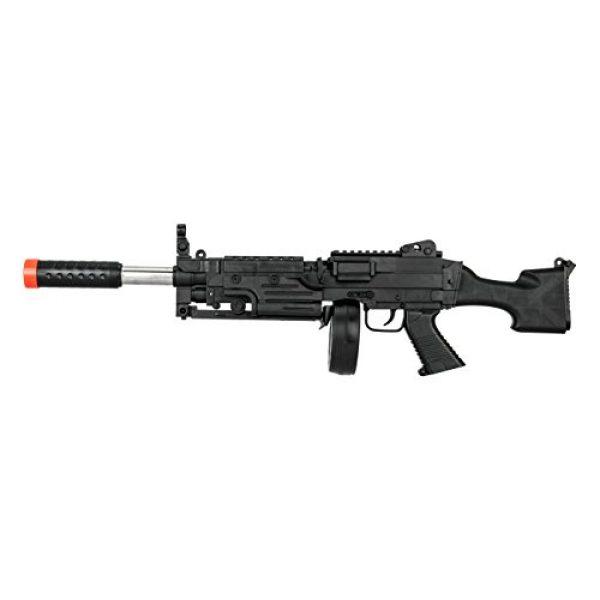 UKARMS Airsoft Rifle 5 UKARMS Tactical LMG Spring Airsoft Rifle Gun FPS 300