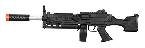 UKARMS  5 UKARMS Tactical LMG Spring Airsoft Rifle Gun FPS 300