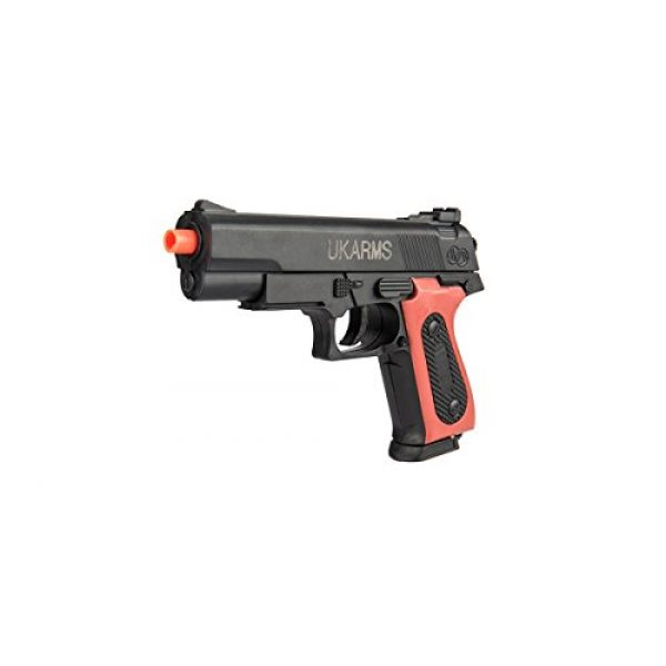 UKARMS Airsoft Pistol 1 UKARMS P238 Airsoft Hand Gun Full Size Spring Pistol w 6mm BBS BB