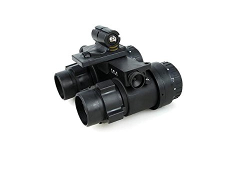TMC Airsoft Tool 4 TMC Black Dummy ANVIS9 Night Vision Aviator's Goggles for Airsoft Tactical Hunting Game