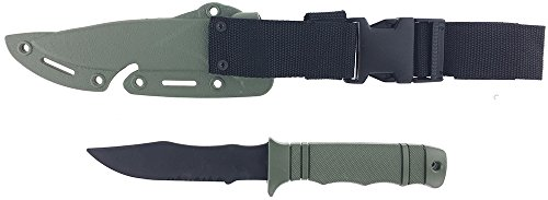 SportPro Airsoft Tool 2 SportPro Rubber Combat Knife M37 Style for Training Airsoft Olive Drab