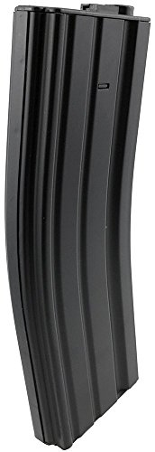 SportPro  5 SportPro Jing Gong 450 Round Metal High Capacity Long Magazine for AEG M4 M16 Airsoft - Black