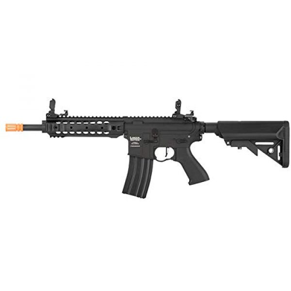 Lancer Tactical Airsoft Rifle 1 Lancer Tactical LT-24 Full-Metal CQB M4 AEG Airsoft Rifle