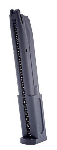 Elite Force Airsoft Gun Magazine 2 Elite Force Beretta M92 A1 Blowback Full Auto 6mm BB Pistol Airsoft Gun Extended Magazine, 40-Round Capacity, Multi, One Size (2274312)