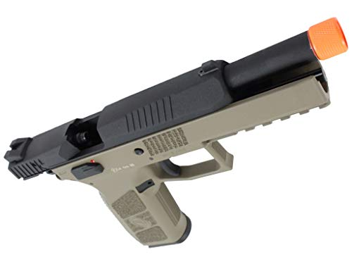 ASG Airsoft Pistol 5 ASG CZ P-09 Gas Powered Airsoft Pistol with Outer Barrel Threading