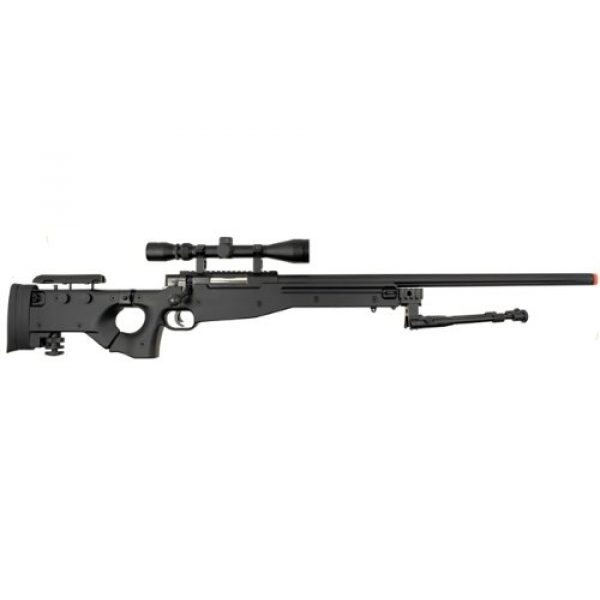Well Airsoft Rifle 1 Well l96 spring sniper airsoft rifle w/ bi-pod and scope(Airsoft Gun)