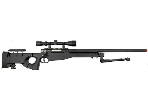 Well  1 Well l96 spring sniper airsoft rifle w/ bi-pod and scope(Airsoft Gun)