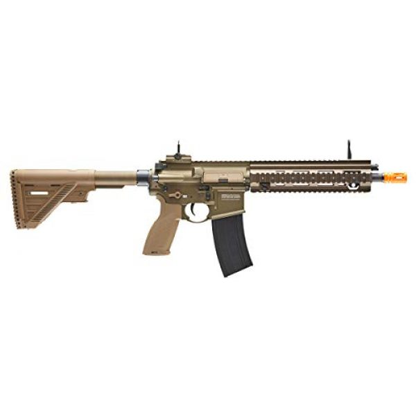Elite Force Airsoft Rifle 3 Heckler & Koch Airsoft Rifle 416 A5 6mm Tan, Multi, One Size (2262069)