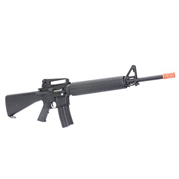 MetalTac Airsoft Rifle 4 MetalTac CYMA CM013 Electric Airsoft Gun RAS with Polymer Body, Metal Gearbox Version 2, Full Auto AEG, Powerful Spring 370 Fps with .20g BBS