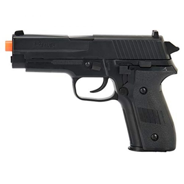 Sig Sauer Airsoft Pistol 1 Sig_Sauer P228 Black Spring Airsoft Pistol W/ 6mm 0.12g Airsoft BBS(Color May Vary)