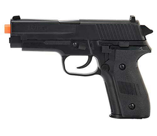 Sig Sauer Airsoft Pistol 1 Sig_Sauer P228 Black Spring Airsoft Pistol W/ 6mm 0.12g Airsoft BBS(Color May Vary)