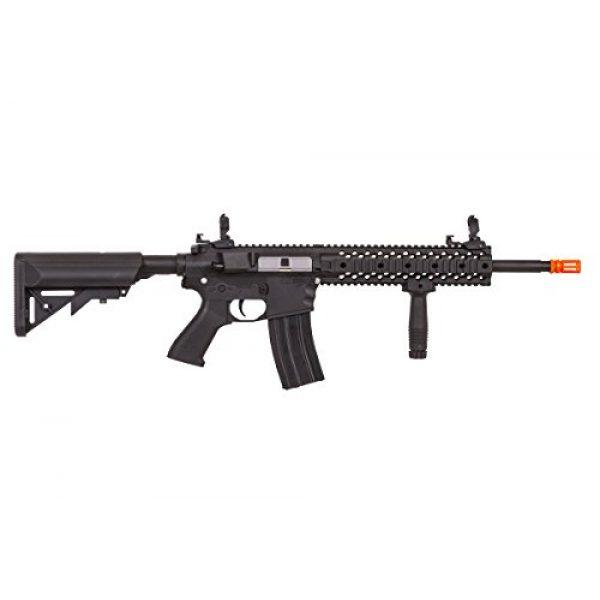 Lancer Tactical Airsoft Rifle 3 Lancer Tactical LT-12B-G2 Gen 2 RIS M4 Carbine AEG Airsoft Rifle (Black)