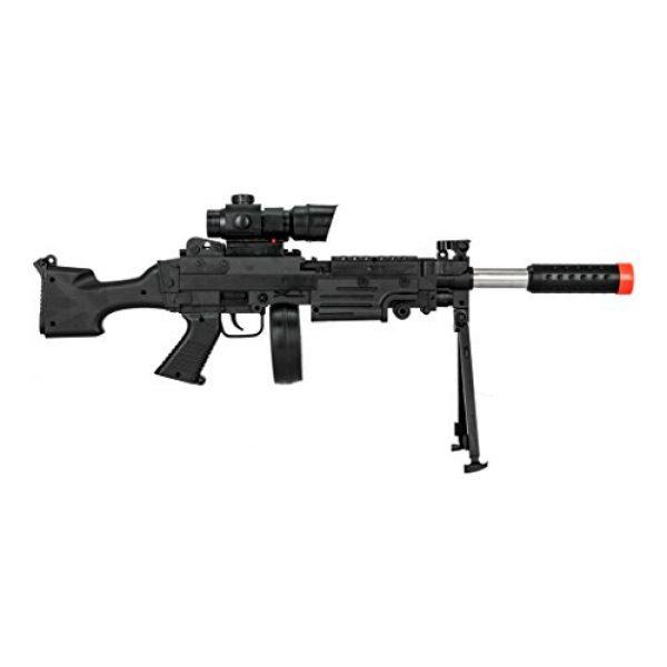 UKARMS Airsoft Rifle 2 UKARMS Tactical LMG Spring Airsoft Rifle Gun FPS 300