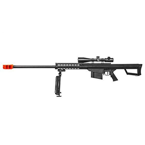 Lancer Tactical Airsoft Rifle 2 Lancer Tactical M82 Polymer Spring Sniper Rifle w/Bipod Airsoft Gun