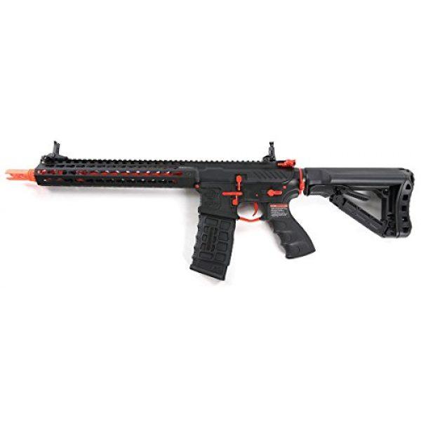 G&G Airsoft Rifle 1 G&G Combat Machine CM16 SRXL 6mm Airsoft AEG Rifle w/KeyMod & MOSFET, Red Edition