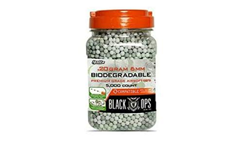 Black Ops Airsoft BB 1 AirSoft Black Ops .20 g Biodegradable BBS - 5,000 Triple Polished Competition