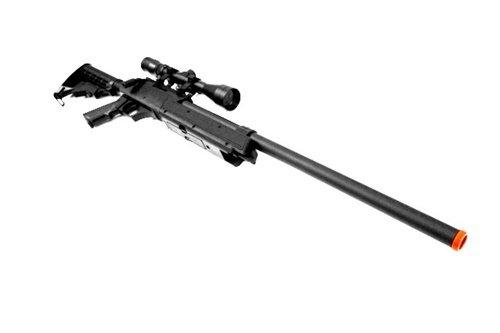 CYMA Airsoft Rifle 3 460 fps cyma aps sr-2 modular full metal bolt action sniper rifle w/ scope pkg(Airsoft Gun)