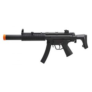 Elite Force Airsoft Rifle 1 HK Heckler & Koch MP5 AEG Automatic 6mm BB Rifle Airsoft Gun, MP5 SD6
