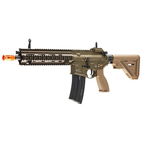 Elite Force Airsoft Rifle 2 Heckler & Koch Airsoft Rifle 416 A5 6mm Tan, Multi, One Size (2262069)