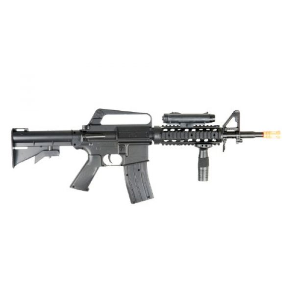 BBTac Airsoft Rifle 2 BBTac M16-A4 Airsoft Gun Spring Rifle Shoots 6mm BBS Pellets with Accessories