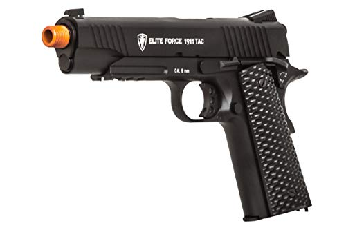 Elite Force Airsoft Pistol 1 Elite Force 1911 Gen 3 Tactical CO2 Blowback Airsoft Pistol (Black)