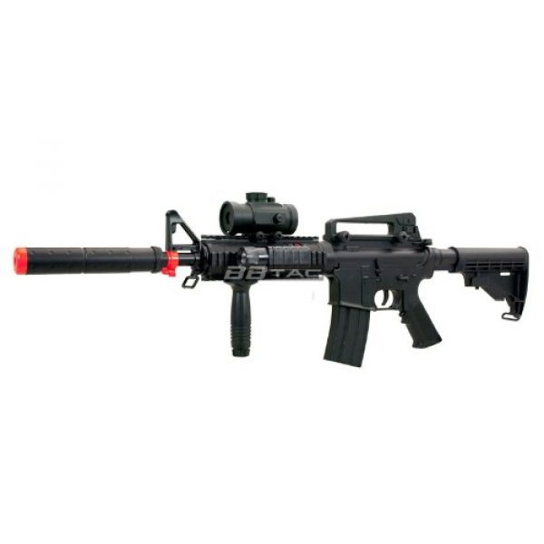 BBTac Airsoft Rifle 2 BBTac M83 Full and Semi Automatic Electric Powered Airsoft Gun Full Tactical Accessories Ready to Play Package