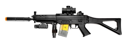 Airsoft Double Eagle Airsoft Rifle 1 AirSoft Double Eagle M82P SIG 552 Semi/Full Auto Electric Assault Rifle AEG
