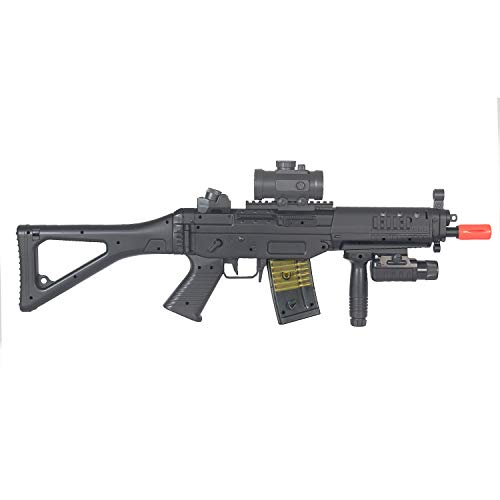 BBTac  6 BBTac Double Eagle Airsoft Gun AEG Electric Rifle Full Auto Great Starter with Premium Airsoft Carrying Sling