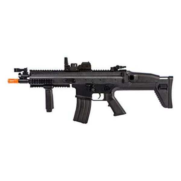 FN Airsoft Rifle 2 FN Airsoft Starter Kit Including FN SCAR AEG Electric Powered Gun with Hop-Up and FNS-9 Spring Pistol