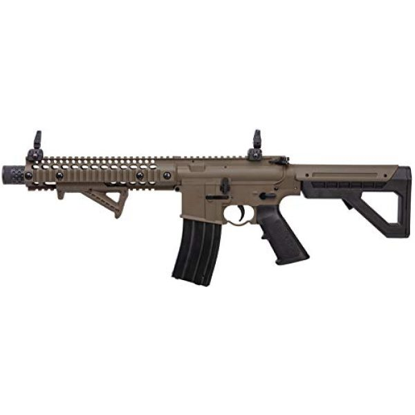 DPMS Air Rifle 4 DPMS Full Auto SBR CO2-Powered BB Air Rifle with Dual Action Capability