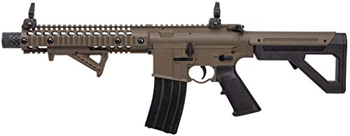 DPMS Airsoft Rifle 4 DPMS Full Auto SBR CO2-Powered BB Air Rifle with Dual Action Capability