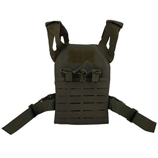 Demeras Airsoft Tactical Vest 2 Demeras Multifunctional Tactics Vest Lightweight Thick Outdoor Vest for Kids