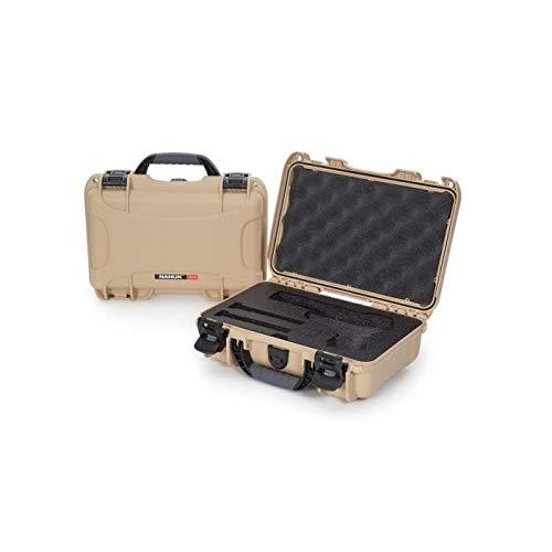 Nanuk Airsoft Gun Case 2 Nanuk 909 Pistol Case W/Foam (Tan)
