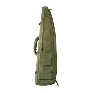 """Yamcyh  1 Yamcyh 39""""/47"""" Outdoor Military Carry Nylon Case Hunting Airsoft Tactical Rifle Gun Bag Heavy Duty Hunting Shotgun Case Carrying Military Shoot Soft Bag"""