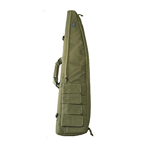"""Yamcyh Airsoft Gun Case 1 Yamcyh 39""""/47"""" Outdoor Military Carry Nylon Case Hunting Airsoft Tactical Rifle Gun Bag Heavy Duty Hunting Shotgun Case Carrying Military Shoot Soft Bag"""