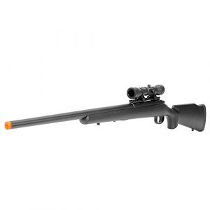 BBTac Airsoft Rifle 1 BBTac Airsoft Sniper Rifle M61 - Bolt Action Powerful Spring Airsoft Gun