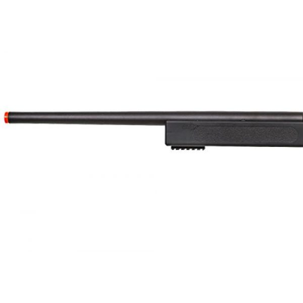 ASG Airsoft Rifle 6 ASG McMillian Sportline M40A3 Bolt Action Spring Sniper Airsoft Rifle (Black)
