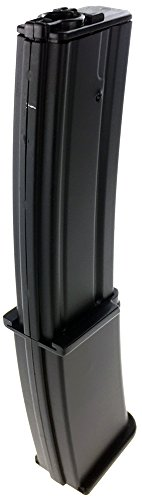 SportPro  5 SportPro Well 145 Round Polymer High Capacity Magazine for AEG MP7 3 Pack Airsoft - Black