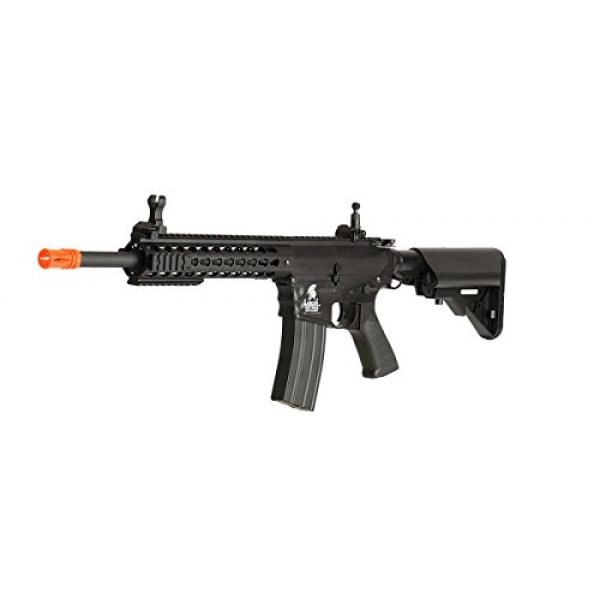 UKARMS Airsoft Rifle 5 UKARMS Lancer Tactical AEG M4 Keymod Electric Automatic Airsoft Rifle Gun - Full Metal Gearbox -